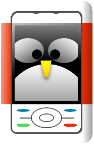 Tux in my Phone Avatar